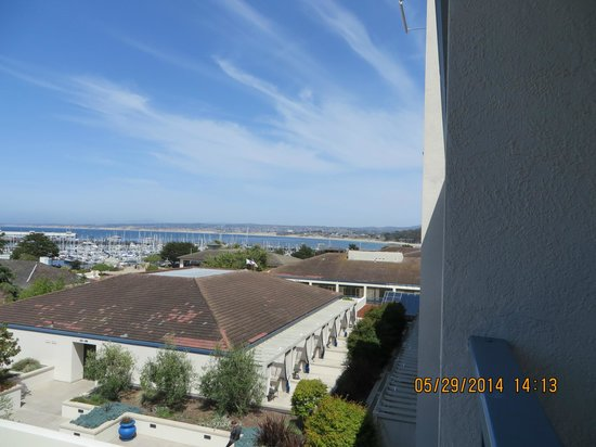 Portola Hotel & Spa at Monterey Bay: Portola Hotel  view from our room