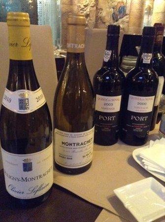 Restaurant Noyan Tun : in vino veritas