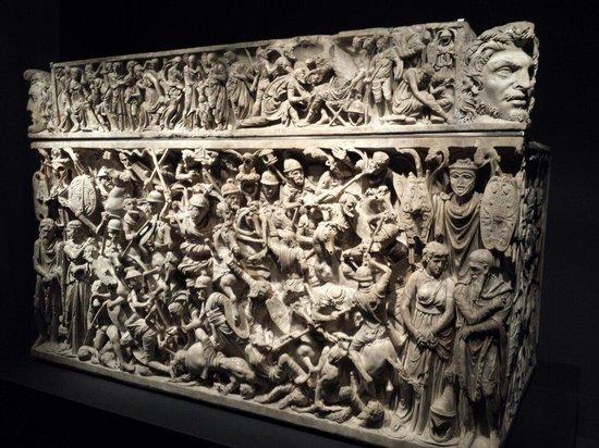 Museo Nazionale Romano - Palazzo Massimo alle Terme : Sarcofago di Portonaccio