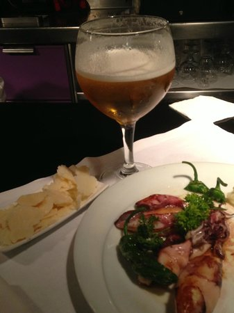 Tenorio : Осминожки и сыр к пиву)