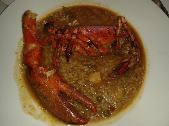 URH Moli del Mig: arroz con bogavante