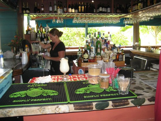Fish Tails Bar and Grill : Great Caribbean bar