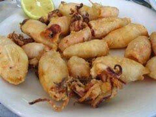 Le Moulin De Mykonos : Calamars