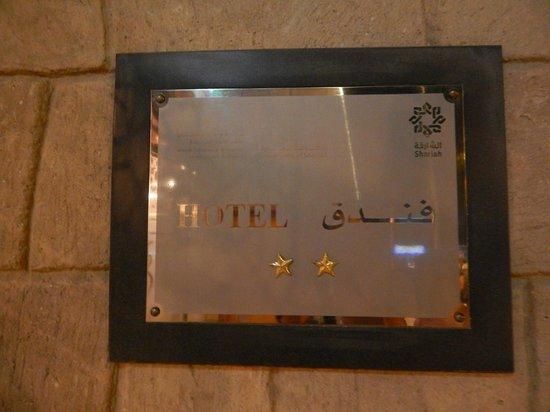 Verona Resort : табличка отеля