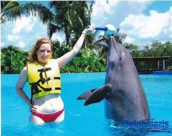 Dolphinaris Riviera Maya Park: me and zeus my dolphin