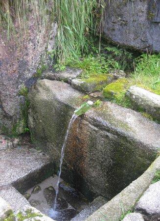 Puyapatamarca: Ritual baths