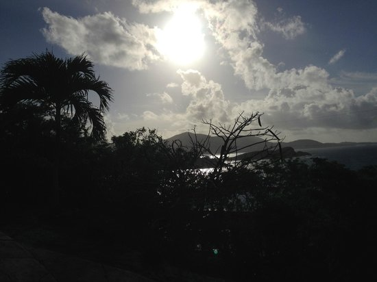 Virgin Islands Campground : Sunrise from VI Campground
