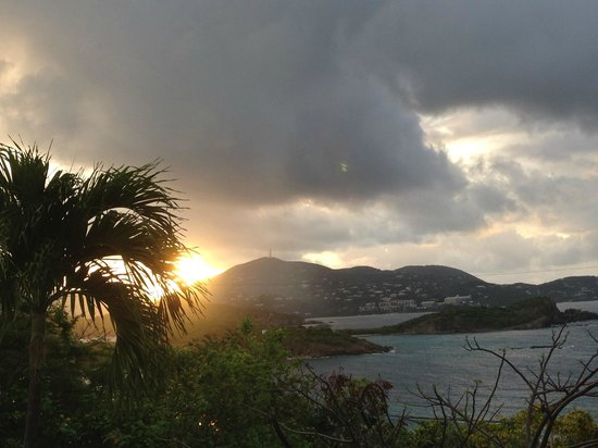 Virgin Islands Campground: Sunrise from VI Campground