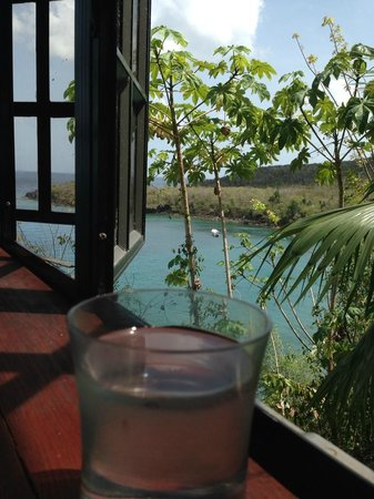 Ti Kaye Resort & Spa : View from the spa