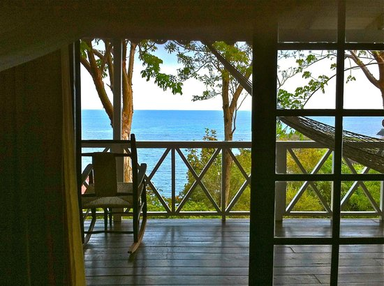Ti Kaye Resort & Spa : view from lying in bed