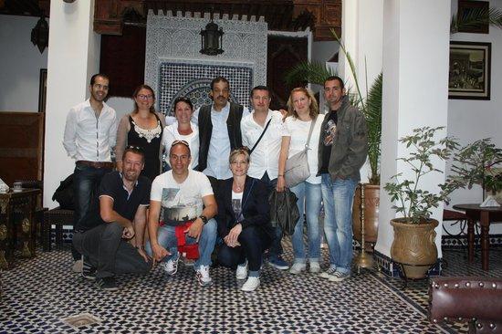 Dar Labchara: Le groupe et l'équipe du Riad