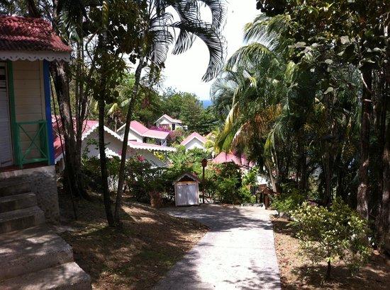 Ti Kaye Resort & Spa : Like walking through paradise