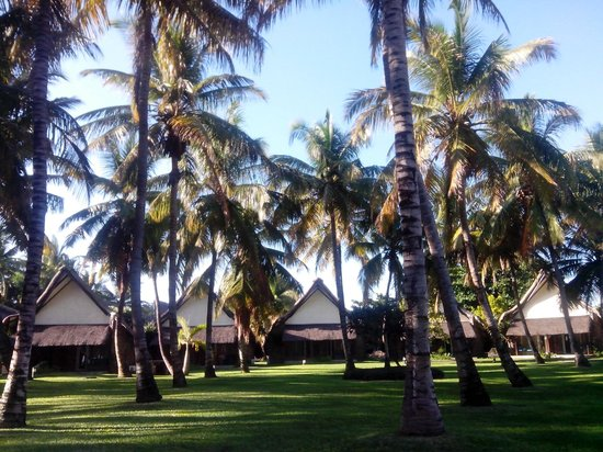 La Pirogue Resort & Spa : Les bungalows disséminés