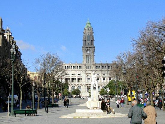 Liberdade Square: Avenida dos Aliados