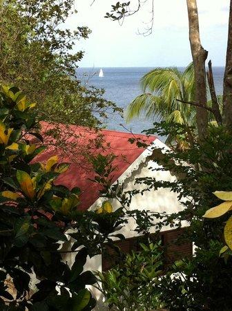 Ti Kaye Resort & Spa : Walking down to breakfast