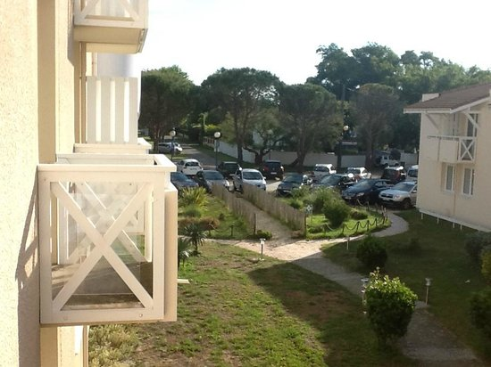 Hotel Residence l'Oceane : Vue du balcon de la chambre