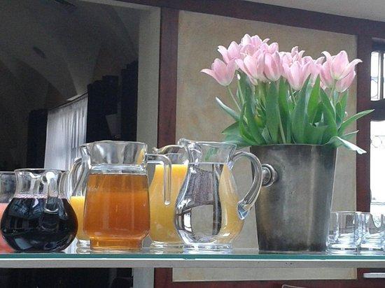 Rejs: Frühstücksbuffet