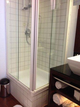 Hotel Concorde: Shower