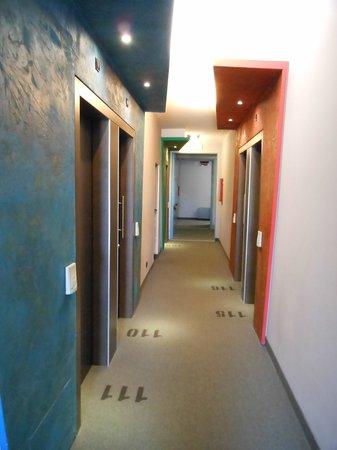 Hotel Al Cason : corridoio