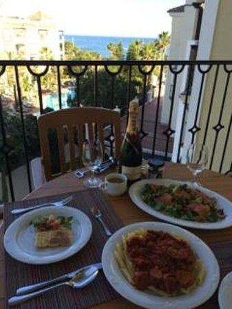 Marriott's Playa Andaluza: Terrace