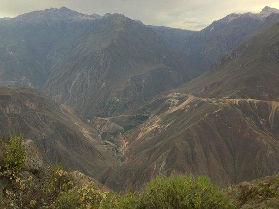 Mirador Achachiua: view from the mirador