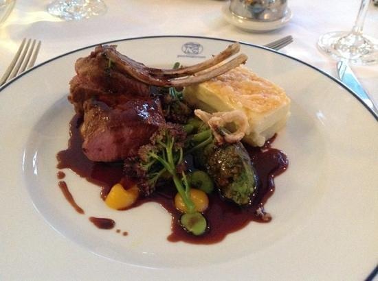 Hotel Portmeirion: welsh lamb