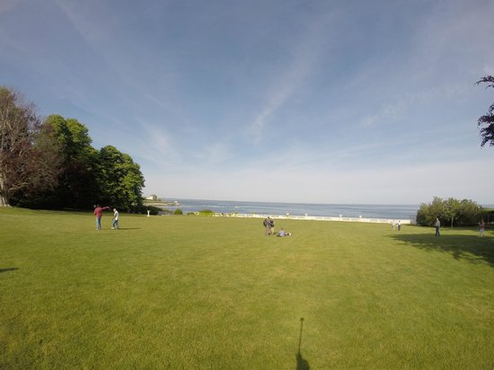 Rosecliff: View from the house