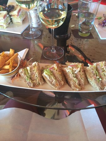 Restaurants at the Four Seasons Hotel : Colors Cafe. Best club sandwich.