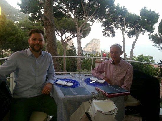 Ristorante Il Geranio: Great view from table