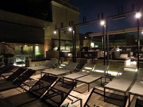 Grand Hotel Central: terrazza-bar