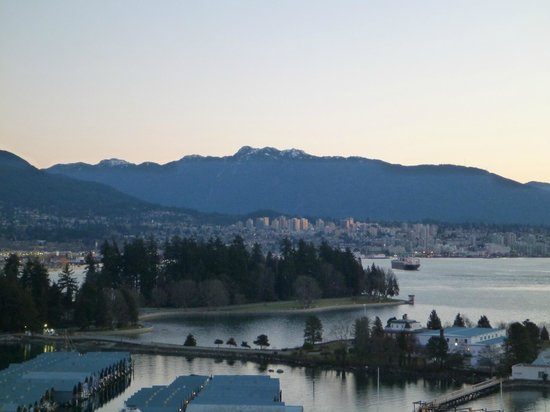 The Westin Bayshore, Vancouver: Stunning view from our room balcony