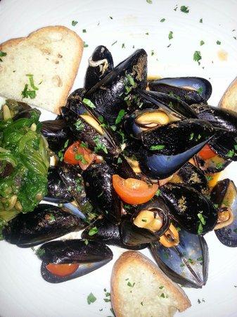 Ristorante Il Geranio: Mussel soup