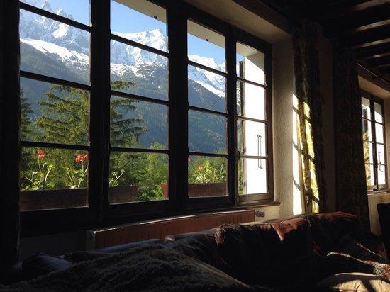 Vert et Blanc: Monte bianco dallo chalet