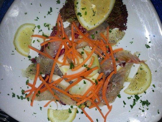 Ristorante Il Geranio: Fish carpaccio