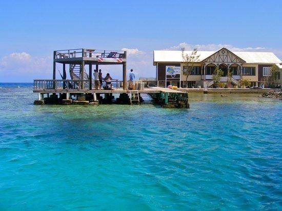Utila Cays Inn: Dock