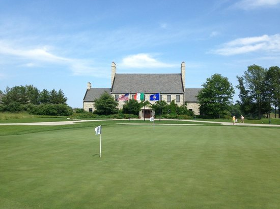 Whistling Straits Golf Course - Straits and Irish: Straights clubhouse