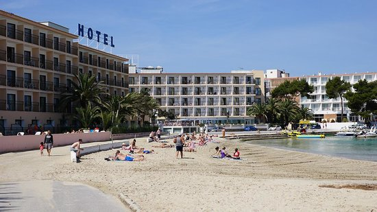 Hotel Playasol San Remo : The beach