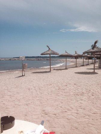 Levante Park Hotel: Beach from Levante cafe