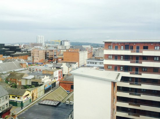 Ibis Belfast City Centre: The view from the 9th floor