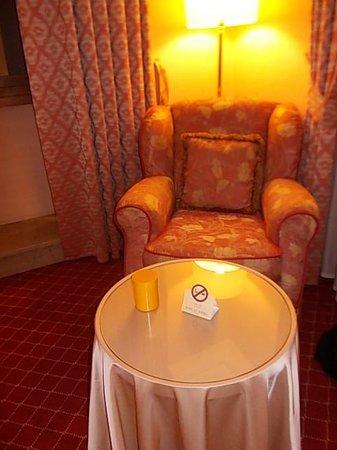 Accademia Hotel : la poltrona era comodissima