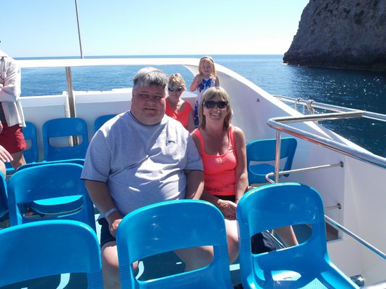 Hotel Marina Delfin Verde: on our boat trip