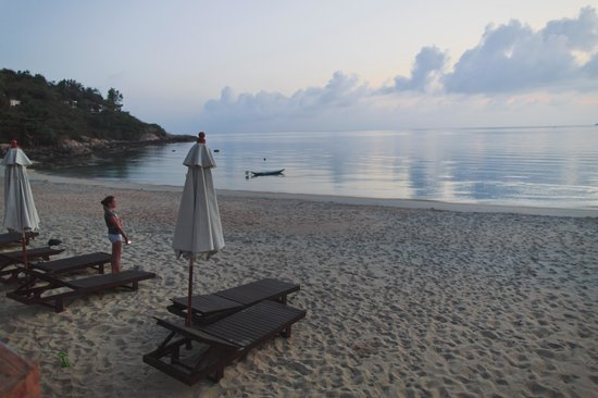 Idyllic Samui Oceanfront Resort & Villas: sunrise, seaview