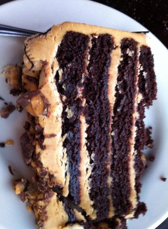 Marie's Lobster House: Peanut Butter Cake