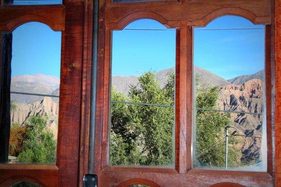 Antigua Tilcara B&B: Vista desde la habitación