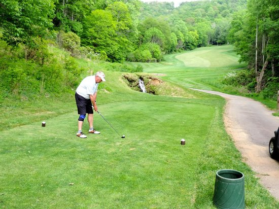 The Buck House Inn on Bald Mountain Creek: Golf at Wolf Laurel Country Club
