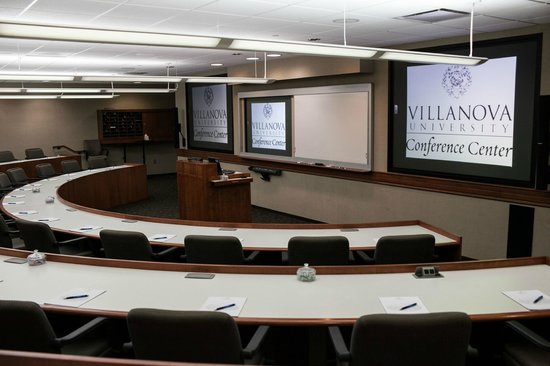Villanova University Conference Center : Executive MBA Classroom
