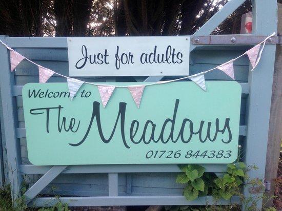 The Meadows Campsite : Entrance