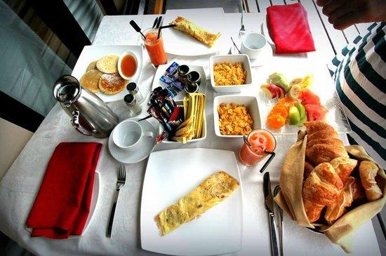 Adaaran Prestige Vadoo: breakfast