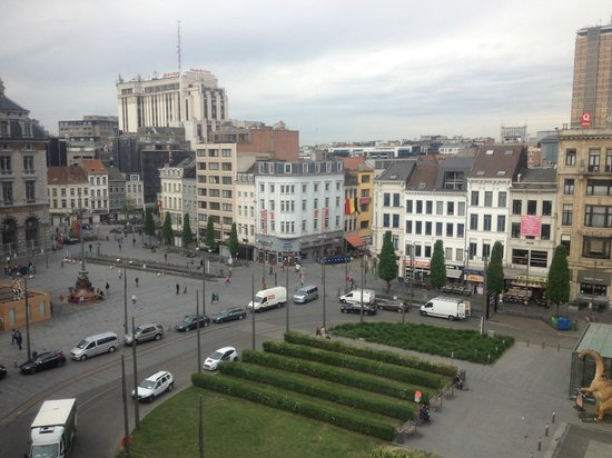 Park Inn by Radisson Antwerpen: view from the 7th floor