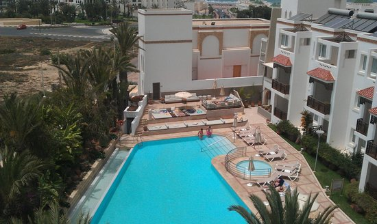 Hotel Timoulay & Spa Agadir: View from our room